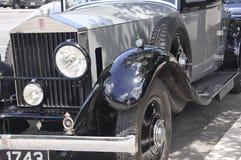 Sabana, el 7 de agosto: Detalles del coche de la época de la sabana en Georgia los E.E.U.U. fotos de archivo libres de regalías