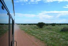 Sabana en Namibia, África Fotografía de archivo