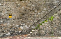 Sabana, Georgia/Estados Unidos - 25 de junio de 2018: Los pasos históricos en sabana añaden encanto a las áreas de la calle del c Fotos de archivo libres de regalías