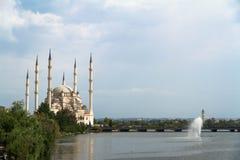 Sabanci Center Mosque in Adana Stock Photos