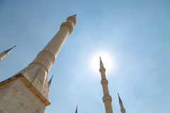 Sabanci-Moschee Lizenzfreie Stockfotografie