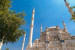 Sabanci-Moschee Lizenzfreie Stockfotos