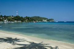 Sabang beach. The beach in sabang Royalty Free Stock Photography