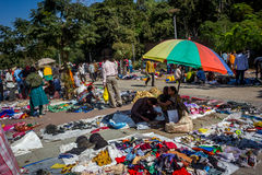 Sabarmati跳蚤市场,艾哈迈达巴德,印度 库存图片