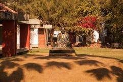 Sabarmati Ashram royaltyfri fotografi