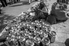 Sabarmati pchli targ, Ahmedabad, India Zdjęcia Stock