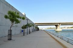 Sabarmati River Front, Ahmedabad Royalty Free Stock Photo
