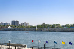 Sabarmati Riverfront View From Sabarmati Ashram In Ahmedabad Stock Images