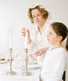 sabat för candelsdottermoder Royaltyfri Foto