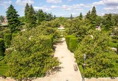 Sabatini fa il giardinaggio vista Immagini Stock Libere da Diritti