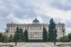 The Sabatini Gardens in Madrid, Spain. Stock Image