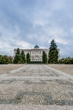 The Sabatini Gardens in Madrid, Spain. Royalty Free Stock Photo