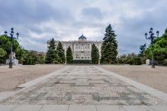 The Sabatini Gardens in Madrid, Spain. Stock Photo