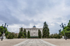 The Sabatini Gardens in Madrid, Spain. Royalty Free Stock Photography