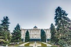 The Sabatini Gardens in Madrid, Spain. Stock Image