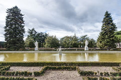 The Sabatini Gardens in Madrid, Spain. Stock Images