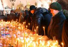 Sabato commemorativo in Ucraina Immagine Stock Libera da Diritti
