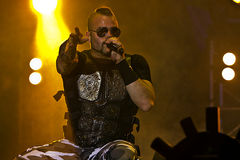 Sabaton. On Masters of Rock 2012 Royalty Free Stock Photography