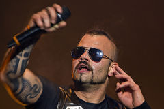 Sabaton. On Masters of Rock 2012 Royalty Free Stock Image