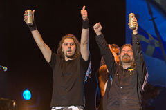 Sabaton. On Masters of Rock 2012 Stock Photography
