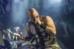Sabaton. Is a heavy metal band from Falun, Sweden formed in 1999. The band's main lyrical themes are based on war and historical battles. Konsert Teknikk AS Stock Photography