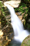 Sabbaday Falls. In the White Mountains of New Hampshire Stock Photo