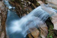 Sabbaday Falls long exposure Stock Photo