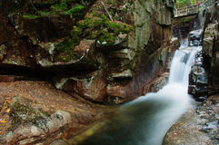 Sabbaday Falls, New Hampshire Stock Photos