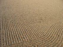 Sabbia 1 di zen fotografia stock libera da diritti