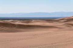 Sabbia accoccolata nelle montagne Immagini Stock Libere da Diritti