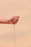 Sabbia araba Fotografie Stock