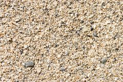 Sabbia asciutta Fotografia Stock