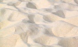 Sabbia bianca Immagine Stock