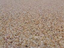 Sabbia bianca dalla spiaggia di Gunung Kidul Immagini Stock Libere da Diritti