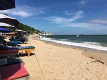 Sabbia calda sulla spiaggia Immagine Stock Libera da Diritti