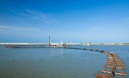 Sabbia che succhia barca Fotografie Stock
