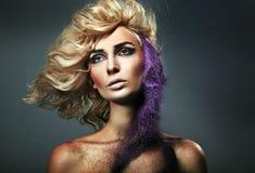 Sabbia colorata Fotografia Stock