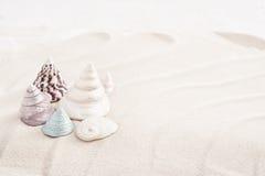 Sabbia con le coperture Fotografie Stock Libere da Diritti