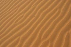 Sabbia del deserto Immagini Stock