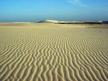 Sabbia del vento Immagine Stock Libera da Diritti