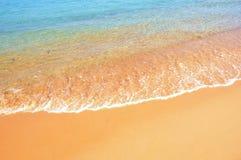Sabbia dell'oro. Immagini Stock