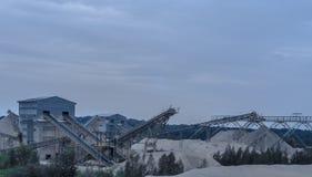 Sabbia della miniera Fotografie Stock