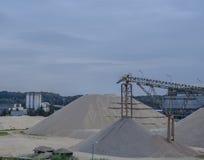 Sabbia della miniera Fotografia Stock Libera da Diritti