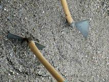 Sabbia della pala Fotografia Stock Libera da Diritti