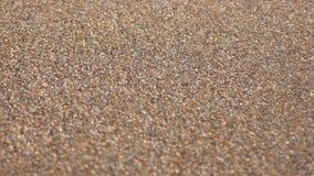 Sabbia della spiaggia - primo piano Fotografia Stock Libera da Diritti