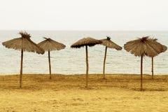 Sabbia della spiaggia vari Fotografia Stock