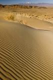 sabbia delle ondulazioni delle dune del deserto Fotografia Stock Libera da Diritti