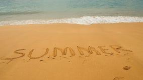 Sabbia di estate Fotografia Stock Libera da Diritti