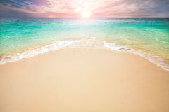 Sabbia di mare di Sun Fotografia Stock Libera da Diritti