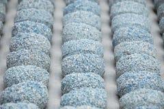 Sabbia di struttura/fondo astratti della pietra Aria dell'ossigeno nell'agricoltura acquatica Immagini Stock Libere da Diritti